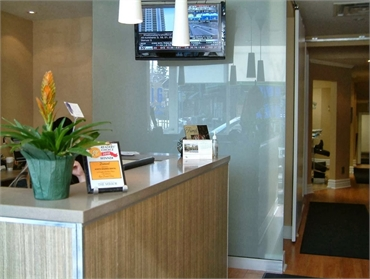 Reception area North Shores Dental
