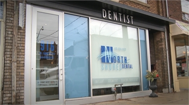 Exterior view North Shores Dental Toronto
