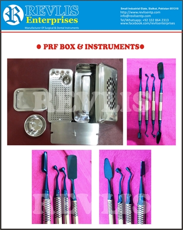 PRF Box with instruments