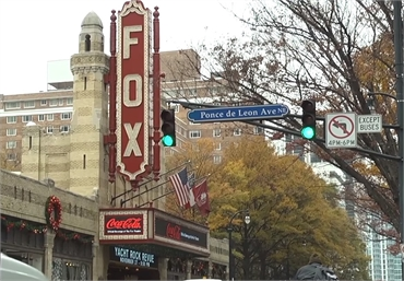 Fox Theatre Atlanta 29 miles to the south of Exceptional Dentistry at Johns Creek Judson T. Connell