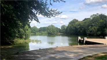 Lake Clara Meer in  Piedmont Park 27 miles to the south of Exceptional Dentistry at Johns Creek Juds