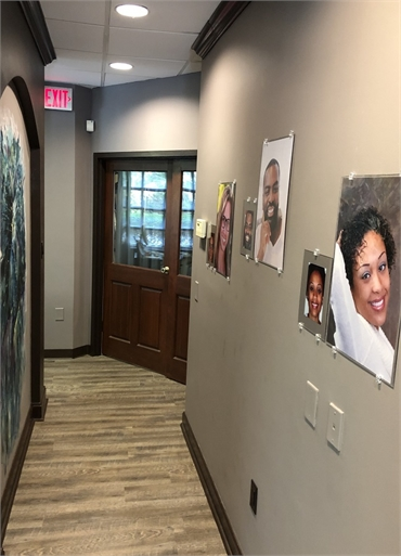Hallway at Suwanee dentist Exceptional Dentistry at Johns Creek Judson T. Connell  DMD
