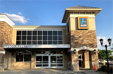 ALDI 5 miles to the west of Exceptional Dentistry at Johns Creek Judson T. Connell DMD