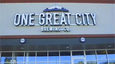 One Great City Brewing Company just 1 km to the northeast of Winnipeg dentist Integral Dental