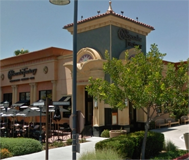 The Cheesecake Factory 7 minutes drive to the south of Chula Vista dentist Estrella Dental