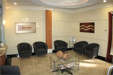 Waiting area Estrella Dental Chula Vista
