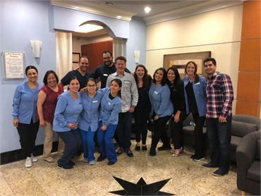The dental team at Chula Vista dentist Estrella Dental