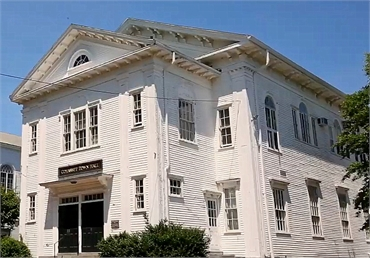 Cohasset Town Hall 6 minutes drive to the north of Cohasset dentist Freeman Dental Associates