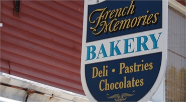 French Memories Bakery 4 minutes drive to the north of Cohasset dentist Freeman Dental Associates