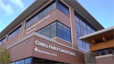 Cowell Family Cancer Center and Munson Medical Center 20 miles south of Traverse City dentist Lisa S
