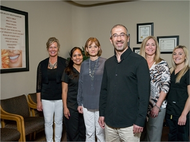 Team at Scottsdale dentist A Reason to Smile