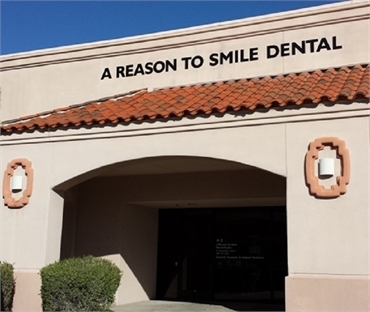 Store front of Scottsdale dentist A Reason to Smile