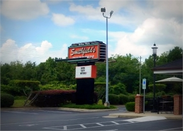 Smithfield's Chicken 'N Bar-B-Q 7300 Market St few paces to the north of Wilmington dentist O2 Denta