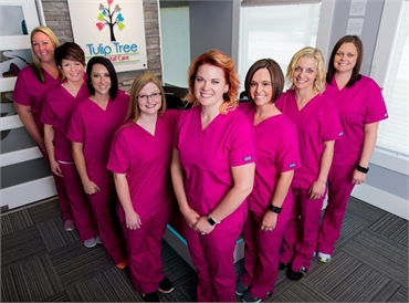 The team at South Bend dentist Tulip Tree Dental Care