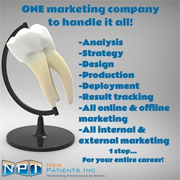 Get in Touch With New Patients Inc for Dental Marketing Strategy