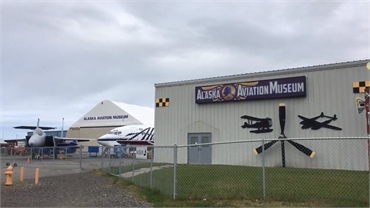 Alaska Aviation Museum 4.3 miles to the southwest of Alaska Implants