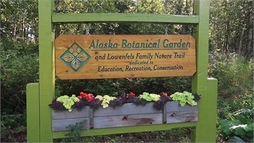 Alaska Botanical Garden 5.3 miles to the east of Alaska Implants