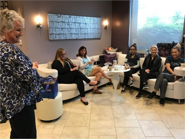 Dental staff lunch and learn at Canton dentist Danner Dental