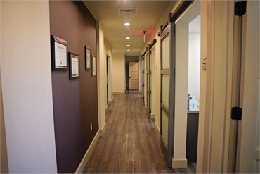Hallway at Litchfield Park dentist Warren and Hagerman Family Dentistry