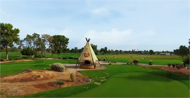 Wigwam Golf Club few blocks away to the north of Litchfield Park dentist Warren and Hagerman Family