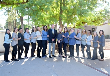The team at Litchfield Park dentist Warren and Hagerman Family Dentistry