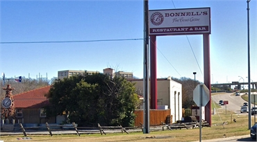 Bonnell's Fine Texas Cuisine 12 minutes drive to the north of Fort Worth dentist Sycamore Smiles Ped