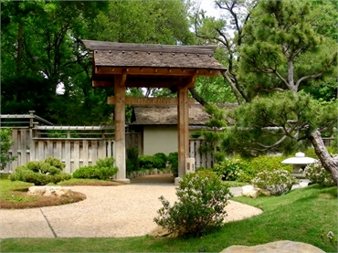 Japanese Garden 19 minutes drive to the north of Fort Worth dentist Sycamore Smiles Pediatric Dentis