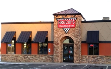 Bruchi's cheesesteak restaurant a few paces to the north of Medical Lake invisalign expert Best Impr