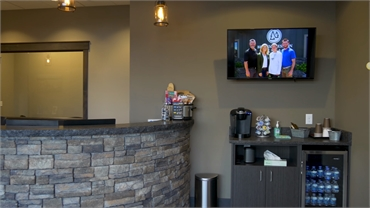 Refreshment area at Medical Lake dentist Best Impression Dental