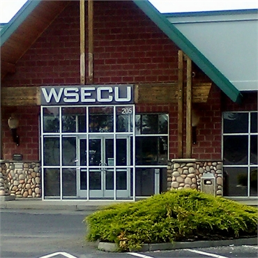 WSECU branch and ATM a few paces away from Medical Lakes top Invisalign dentist Best Impression Dent
