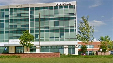 Five Guys HQ at 9 minutes drive to the south of Lorton dentist Lorton Town Dental