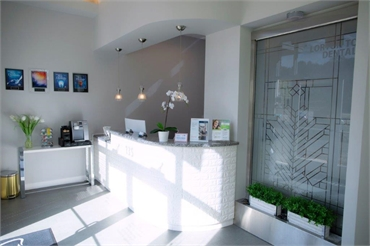 Reception area at Lorton Town Dental