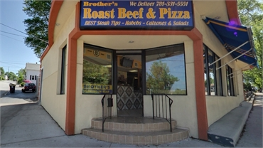 Brothers Roast Beef 10 minutes drive to the north of Aspire Dental Health of Weymouth