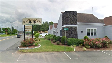 Stockholders steakhouse 1 minutes drive to the south of Aspire Dental Health of Weymouth