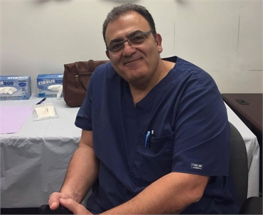 Coral Springs dentist Dr. Daneshgar at Wisdom Dental