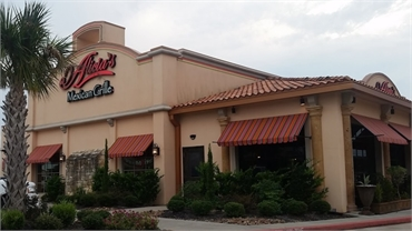 Alicia's Mexican Grille at 7 minutes drive to the northeast of Sealy Dental Center in Katy