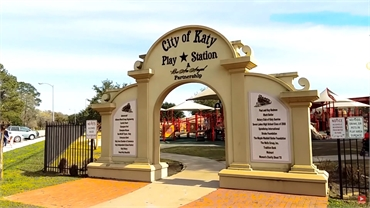 Katy City Park and Katy Play Station at 11 minutes drive to the north of Sealy Dental Center in Katy