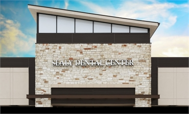 Side view of Sealy Dental Center in Katy