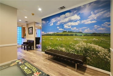 Orthodontics office in Flower Mound Texas interior