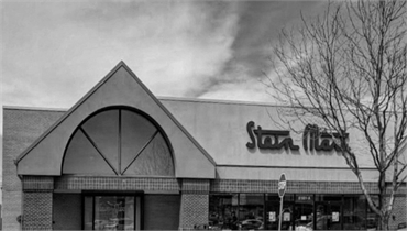 Stein Mart few paces to the north of Comfort Dental Kids - Centennial