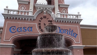 Casa Bonita at 6 minutes drive to the east of Comfort Dental Kids - Lakewood