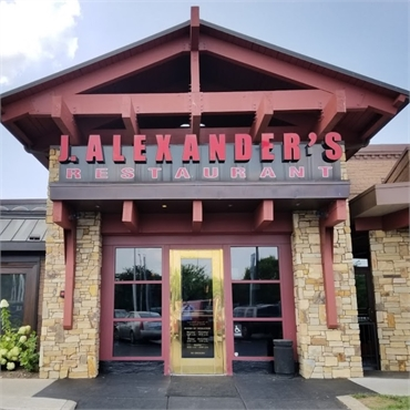 J. Alexander's Restaurant at 5 miles to the north of Dental Bliss Franklin
