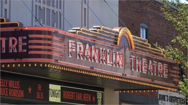 Franklin Theatre at 3.6 miles miles to the west of Dental Bliss Franklin