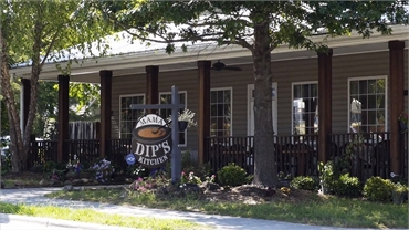 Mama Dip's Kitchen at 14 minutes drive to the south of O2 Dental Group of Durham  Chapel Hill