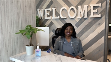 Durham NC dentist Dr. Lydia Oyegunwa at O2 Dental Group of Durham