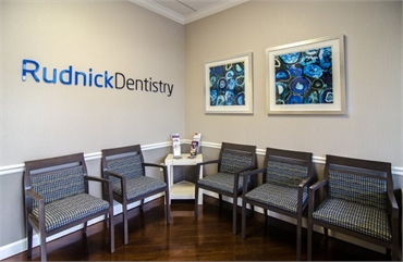 Lobby Area of Cosmetic Dentist Palm Beach Gardens FL Andrew Rudnick DMD