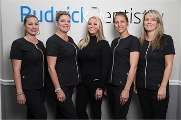Warm and friendly dental staff at Palm Beach Gardens FL dentist Andrew Rudnick DMD
