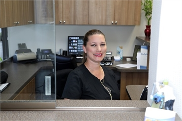 Front office greeting team at   Palm Beach Gardens FL dentist   Andrew Rudnick DMD