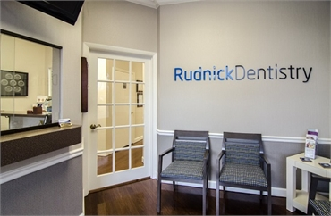 Front office of Palm Beach Gardens FL dentist Andrew Rudnick DMD