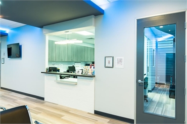 Checkout office at Dallas dentist Fresca Dental